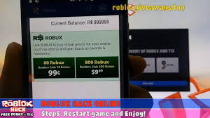 roblox hack how to get free robux in roblox hack 2016 the