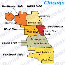 chicago map side chicago roommates roommate chicago rooms rent roomates roomate
