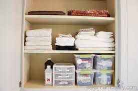 linen closet organization ask anna