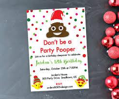 emoji christmas party invitation printable emoji christmas