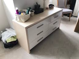 Bandq Bedroom Furniture B Q Bedroom Furniture Chest Drawers Bedside Table In Totton