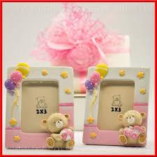 cornice battesimo bimbo portafoto nascita bimba cornici battesimo orsacchiotto rosa