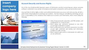 download security awareness and training powerpoint presentation