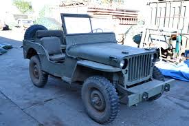 navy blue jeep classic military automotive 1942 willys mb jeep 8000 traded