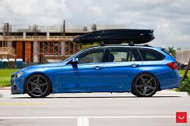 bmw wagon stance bmw 328i xdrive touring with vossen wheels