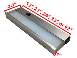 affordable quality lighting 120v led under cabinet light bar cuc hv by aqlighting