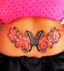butterfly back tattoos butterfly tattoos lower back