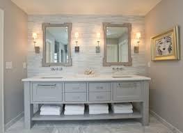 Wood Framed Bathroom Vanity Mirrors Magnificent Farm Style Bathroom Vanities And Magnificent Wood