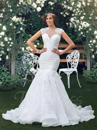 lace mermaid wedding dress neck sleeve sheer back lace mermaid wedding dress