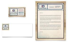 baseball league business card u0026 letterhead template design