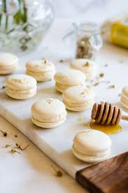 chamomile and caramelized honey macarons a cookie named desire