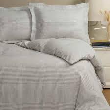 wulfing dormisette cotton linen stripe flannel duvet cover set