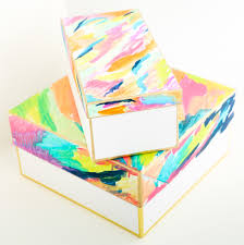 a kailo chic life organize it colorful storage boxes