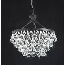 5 Light Bronze Chandelier Modern Style Glass 5 Light Luxury Antique Bronze