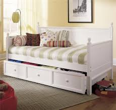 bedroom hillsdale siesta day bed with trundle with elegant brown