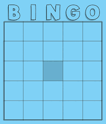 colored blank bingo cards package of 36 035795 details