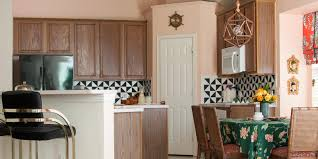 a wild whimsical pink kitchen makeover