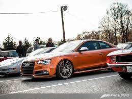 audi s5 modified awe tuning sets 1 4 mi world record in full weight audi s5 3 0t