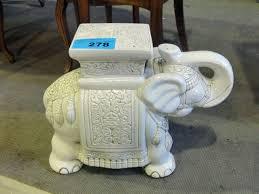 ceramic elephant plant stand ship design
