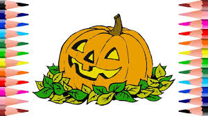 Coloring Pages Of Pumpkin For Halloween by How To Paint Pumpkin Halloween Coloring Pages Coloring Pumpkin