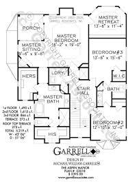 country style house floor plans aspen manor house plan house plans by garrell associates inc