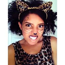 Cheap Halloween Makeup Ideas by Leopard Makeup Easy Mugeek Vidalondon