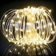 solar power led lights 100 bulb string led string lights 10m 100 leds solar powered copper wire fairy