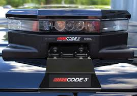 code 3 pursuit light bar code 3 police pursuit mounting bracket system