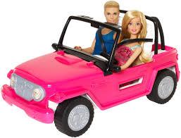 blue barbie jeep barbie beach cruiser barbie u0026 ken dolls