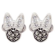minnie mouse earrings judith earrings minnie mouse icon swarovski