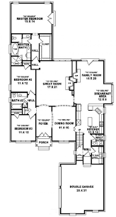 2500 Sq Ft Ranch Floor Plans by 100 3 Bedroom Open Floor Plans Best 25 Open Concept Floor