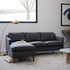 West Elm Sleeper Sofa by Henry U0026 174 2 Piece Pull Down Full Sleeper Sectional W Storage
