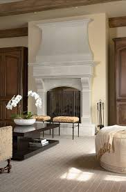 French Country Fireplace - french country home photo decoração 2 pinterest country