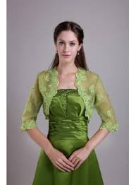 olive green long formal evening dress with jacket img 0696 1st
