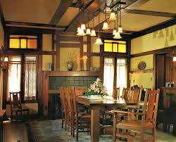 craftsman style dining room light indiepretty