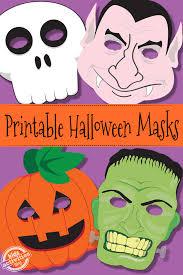 halloween masks free kids printable