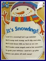 cute snowman poem for kinder or first snowman stuff pinterest