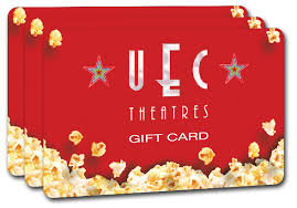theater gift cards index uec united entertainment corp