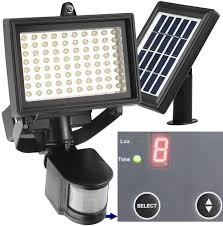 the best solar powered led flood lights security outdoor reviews