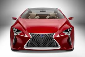 lexus lf fc fuel cell lexus lf lc concept is this the future of hybrid sports cars