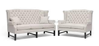white leather 2 seater sofa elegant high back 2 3 seater wedding sofa xy0380 buy white high