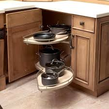 Kitchen Corner Cabinet Storage Solutions Corner Cabinet Storage Ideas Corner Cabinets Corner Kitchen