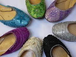 wedding shoes india womens diamante indian leather khussa wedding bridal padded