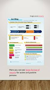 format of latest resume latest resume formats today if you want to get a job offer you 26 image source visual lyvisual ly here you can see latest format of resume for active and positive persons latest format of resume