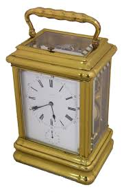 Giant Clocks by Fine Giant Repeater Carriage Clock With Drocourt Movement Clock