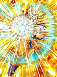 supreme warrior awakened super saiyan goku dragon ball dokkan
