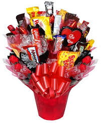 How To Make A Candy Bouquet The Domestic Curator Valentine U0027s Day Candy Bouquet