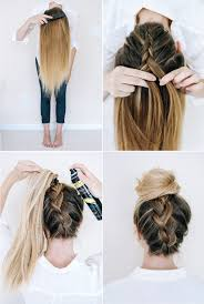 plait at back of head hairstyle six diy easy braids for everyday wear momtastic com