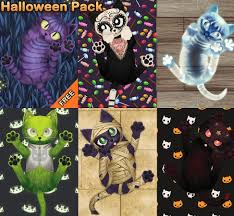 live halloween background hd cat live wallpaper android apps on google play