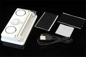 Indoor Motion Sensor Light 2pcs Lot Wireless Led Sensor Light Rechargeable Led Pir Motion